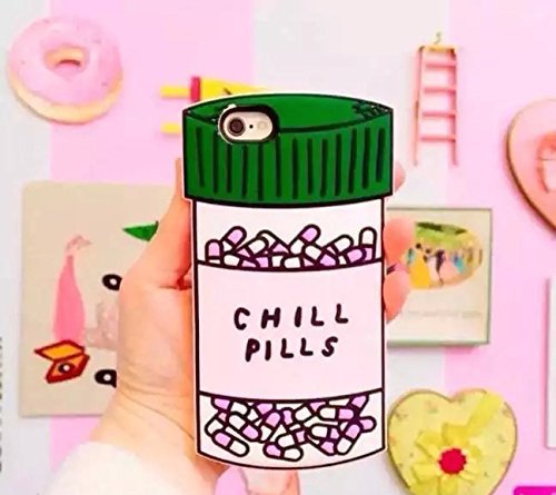 I feel like this might be the most accurate cell phone case for people with anxiety. The Chill Pill case comes in iPhone, Samsung Galaxy S6 SM-G920, and Galaxy Note
