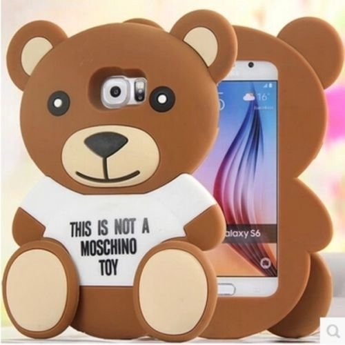 Moschino toy cover for Samsung Galaxy S6