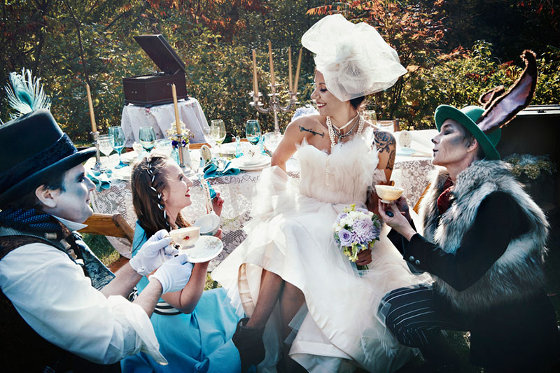Alice party inspiration