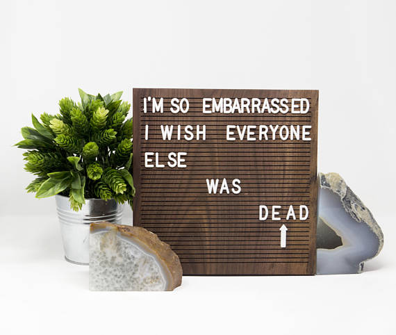 Channel '80s classrooms with these snazzy letterboards