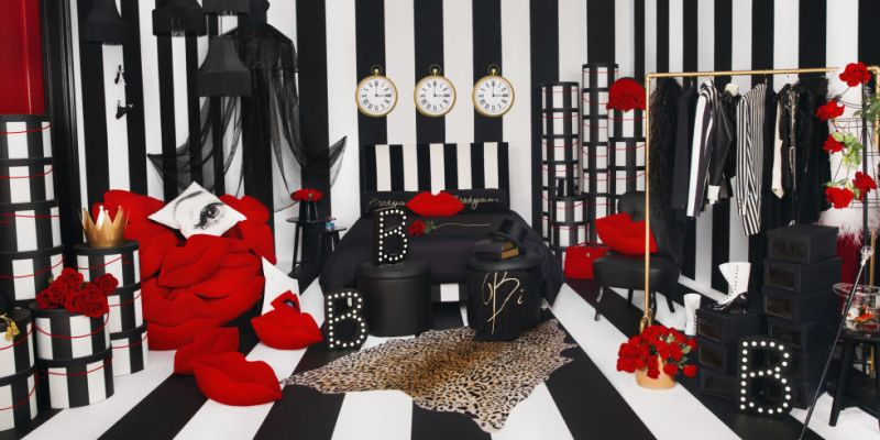 This new glam goth IKEA collection could be the dark weirdness your place needs