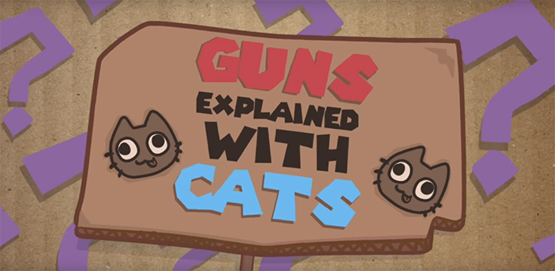 Gun control explained with cats (to share before tomorrow's March for Our Lives)
