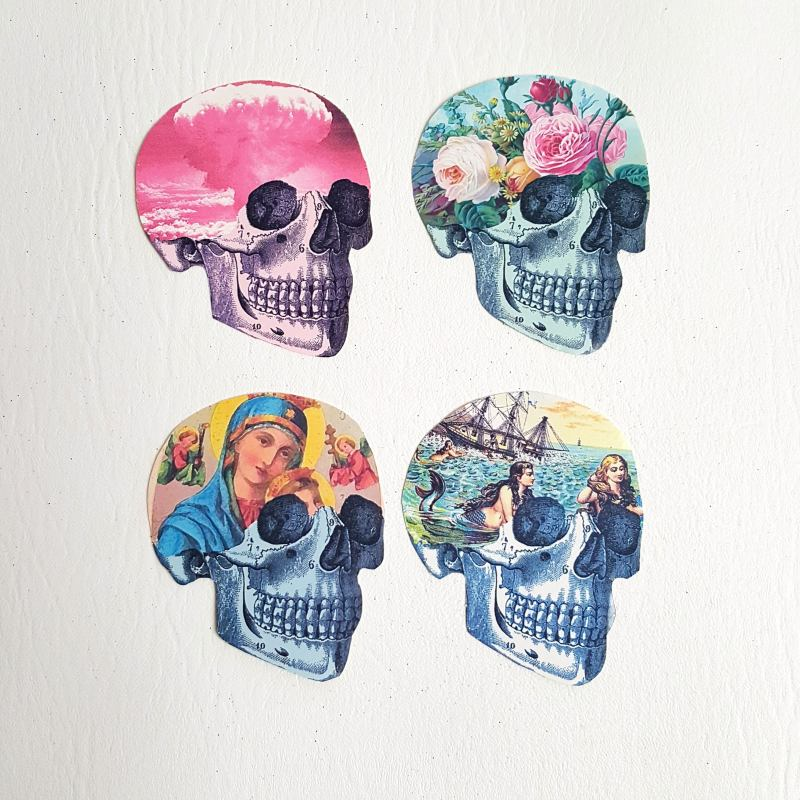 Where can I find more subversive and unique stickers for scrapbooking?