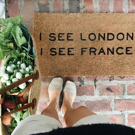 funny welcome mat