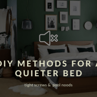 How to fix your bed to be quieter during sex