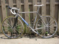 Eddy Merckx Ti road bike that started my love of the material
