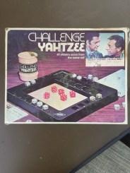 Challenge Yahtzee: Odd Couple Edition (ca. 1974)
