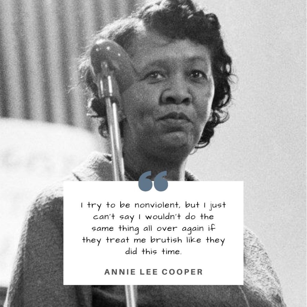 All That's Black: Annie Lee Cooper