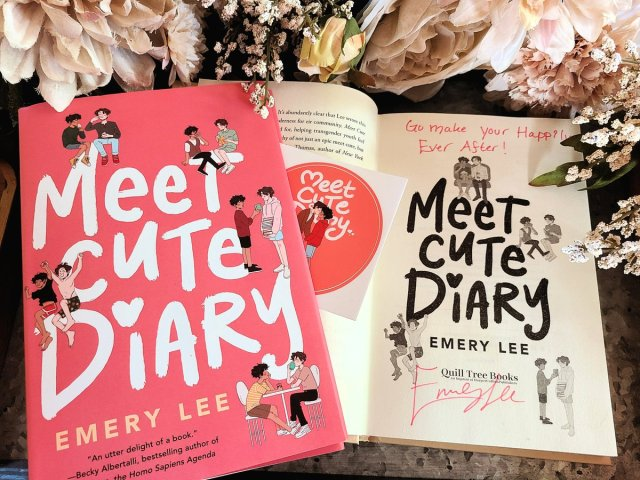 Promotional shot of Meet Cute Diary by  Emery Lee