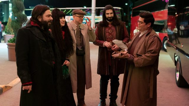 Harvey Guillén in What We Do In The Shadows