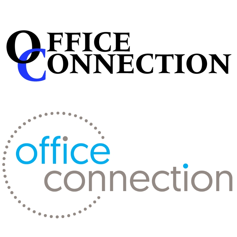Office Connection Peterborough Ltd. Original and New Logo