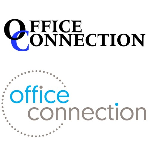 office connection new logo old logo