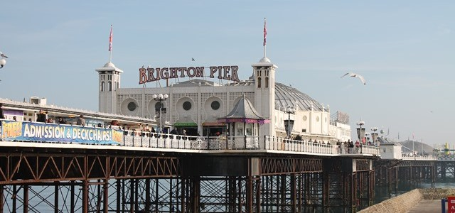 Brighton and Beachy Dreams on a Hot Day