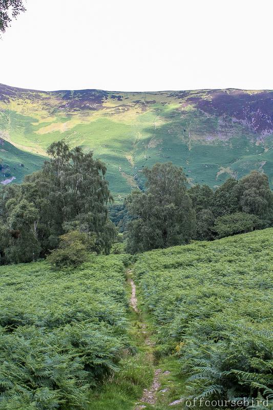 UK lake district hike