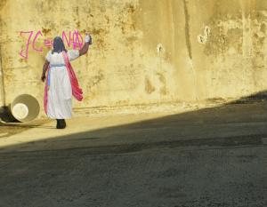 """Bildnachweis: Simon Mallow CC-BY 3.0, unter Verwendung von """"Street Art"""" by DeptfordJon CC-BY 2.0, """"Western Wall, Jerusalem"""" by Süleyman Argun CC-BY 2.0 sowie """"_5310285"""" by Ian Petersen CC-BY 2.0"""