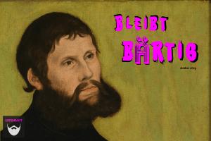 Bildnachweis: Porträt von Martin Luther als Junker Jörg by Unknown/Lukas Cranach der ÄltereCC0 1.0, bearbeitet von Lukas Klette.