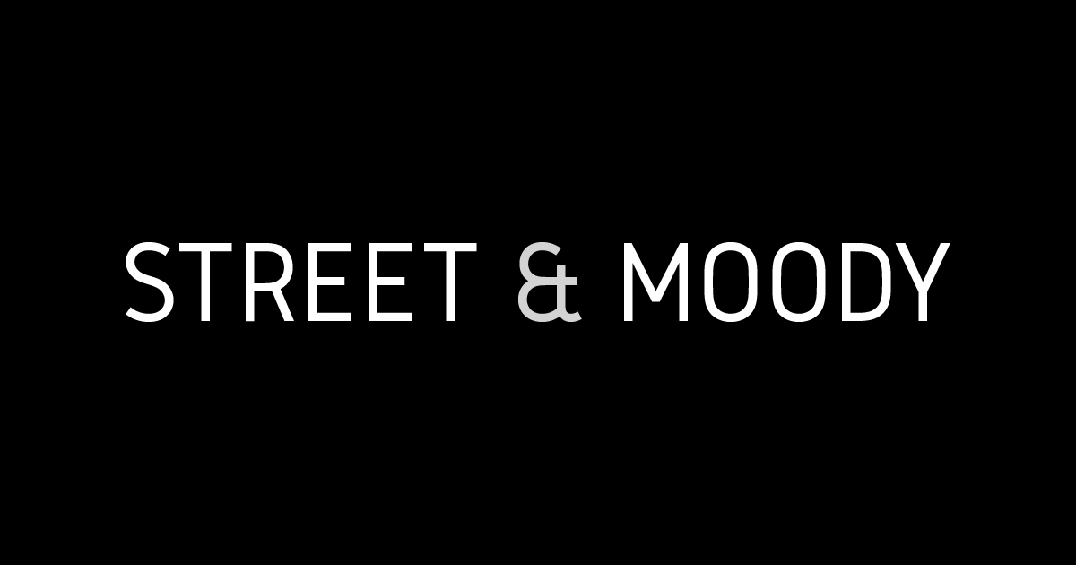 Incoming project: Street and Moody