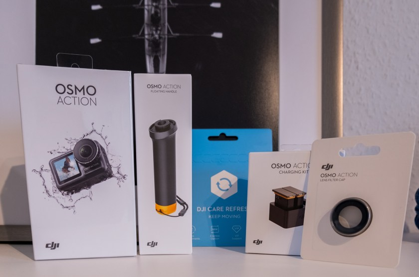 DJI Osmo Action Prime Combo offeneblende
