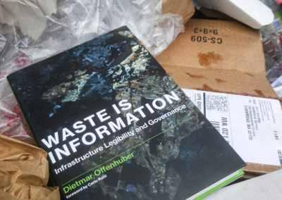 """Monograph """"Waste is Information"""" (MIT Press)"""