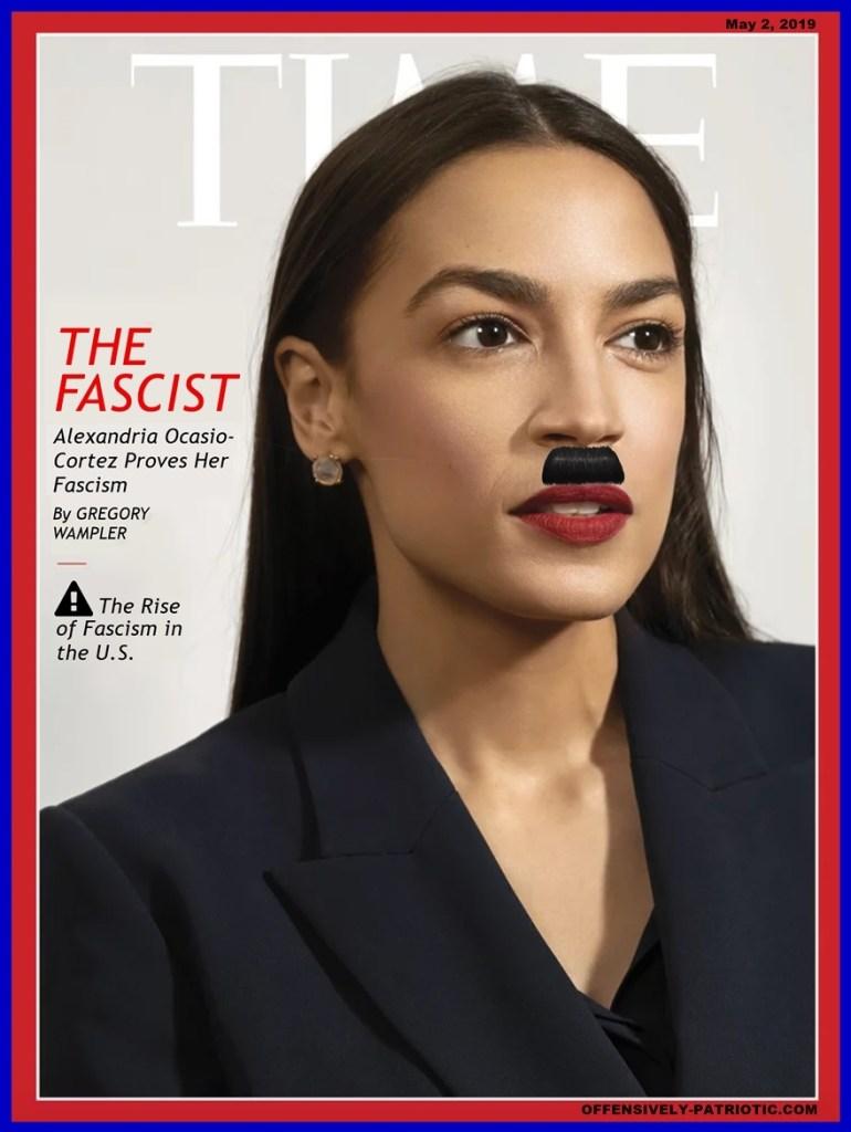 Meme: Alexandra Ocasio-Cortez TIME cover