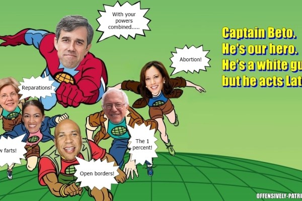 Meme: Captain Beto and the Betoteers