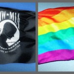 POW Flag Replaced by Gay Flag