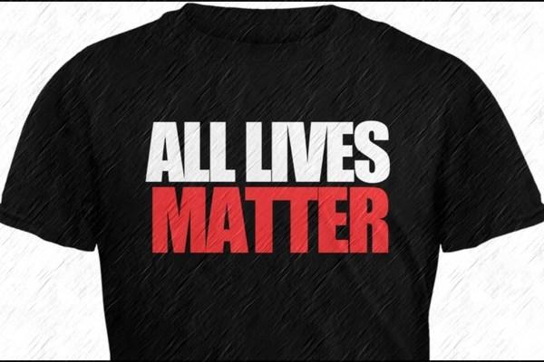 Man Destroys Half-assed BLM Barrier, Yells All Lives Matter