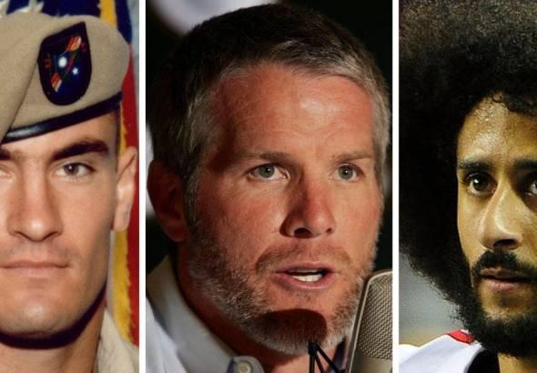 Brett Favre Calls Kaepernick a Hero like Fallen Soldier Pat Tillman