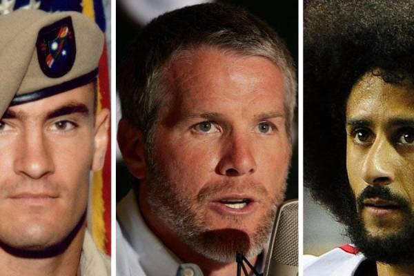 "Brett Favre Calls Kaepernick a ""Hero"" like Fallen Soldier Pat Tillman"