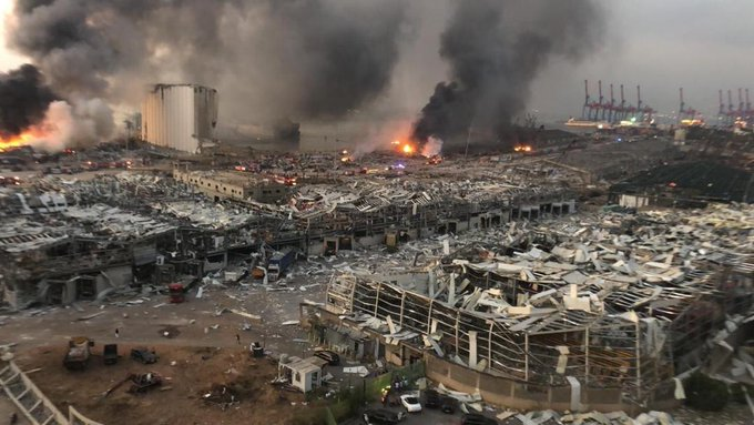 UPDATED: Explosion Rocks Beirut, Felt for Miles
