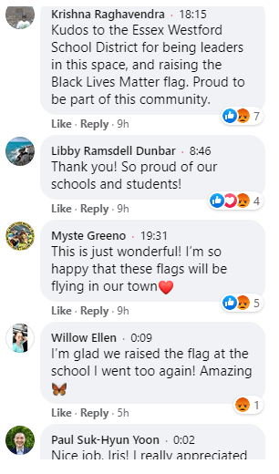 Essex Westford School District Comments