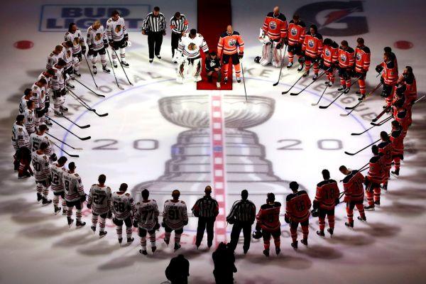 NHL Has its First National Anthem Kneeler in Matt Dumba
