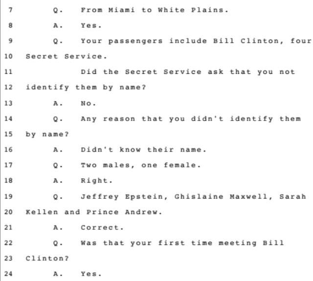 Investigation: The Accusations from the Ghislaine Maxwell Document Release: Part 2 7