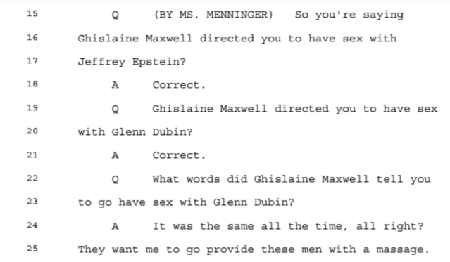 Investigation: The Accusations from the Ghislaine Maxwell Document Release: Part 2 3