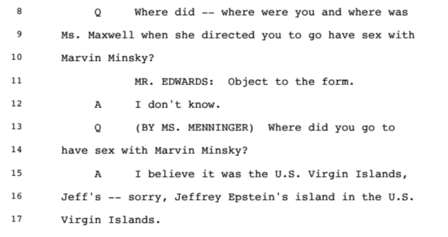 Investigation: The Accusations from the Ghislaine Maxwell Document Release: Part 1 3
