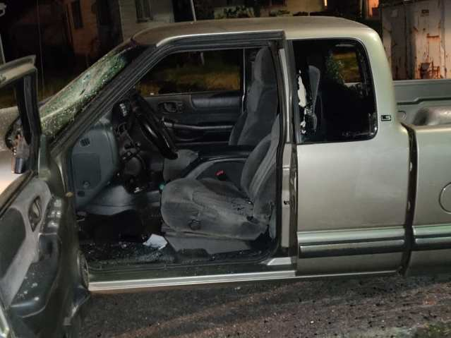 UPDATED: Truck Crashes Through Riots in Portland 2