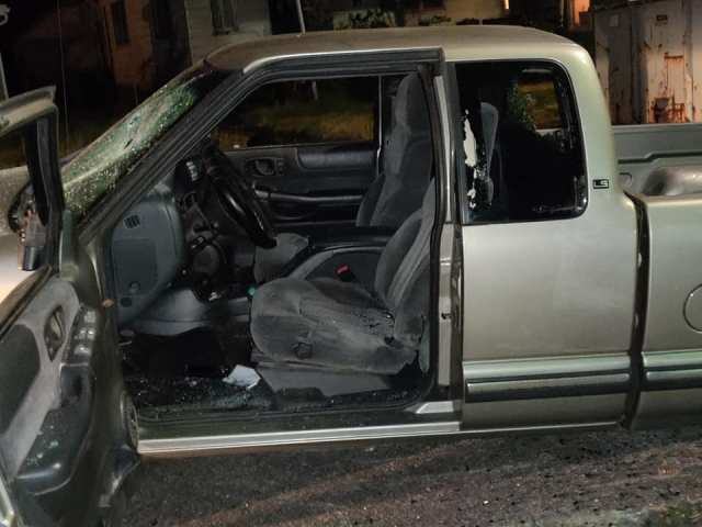 UPDATED: Truck Crashes Through Riots in Portland 7