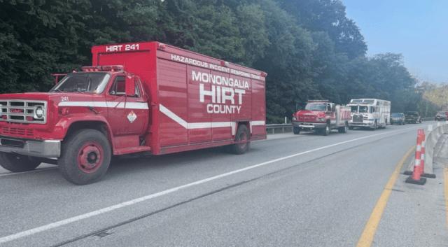 moderna vaccine truck crash