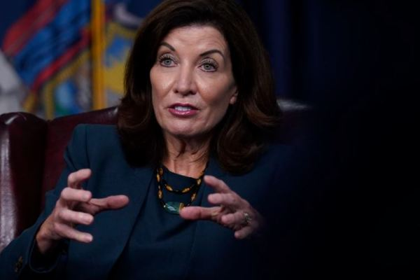 """New York Governor Kathy Hochul Says, """"The Vaccine Is from God"""""""