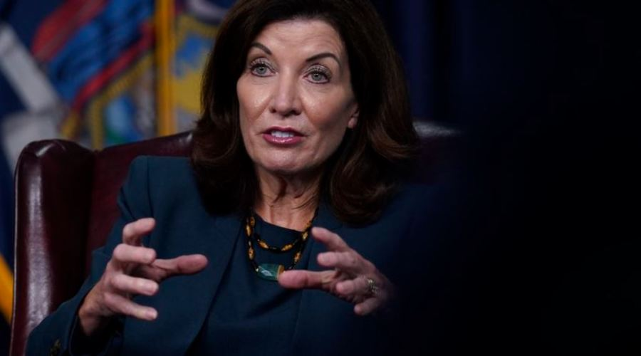 """New York Governor Kathy Hochul Says, """"The Vaccine Is from God"""" 1"""