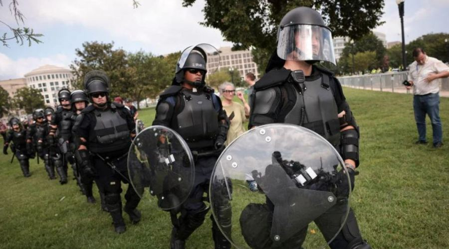 Armed Man Arrested At Justice For J6 Rally Was A Federal Agent 1