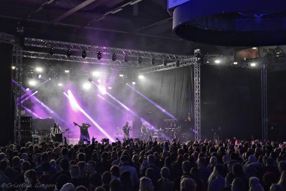 Amorphis, Turmion Kätilöt & Wheel live at Isomäki Areena, Pori(Finland)