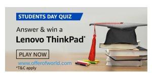 Amazon Student's Day Quiz Answers