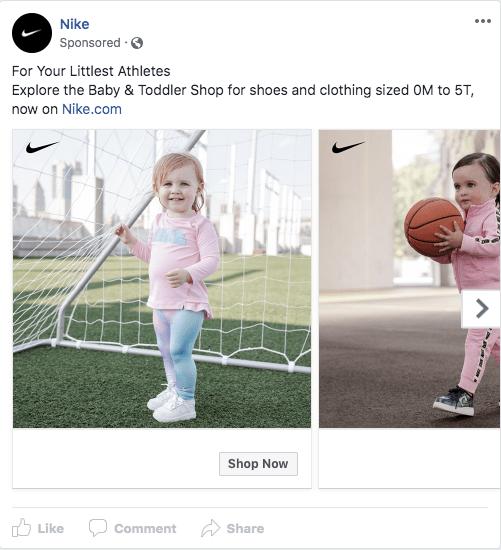 Nike Baby Ad