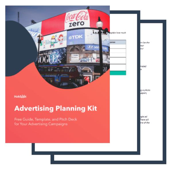 Advertising Plan Kit Free Planning Templates Guide