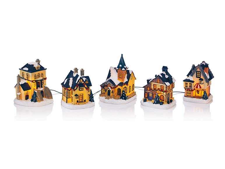 MELINERA Christmas Village Scene Lidl Great Britain