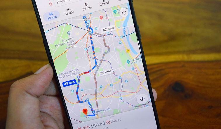 location google maps