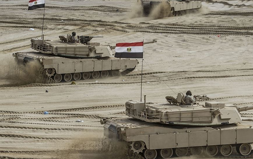 egypt army tanks