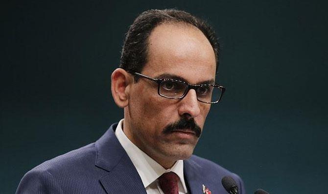 ibrahim kalin turkish spokesperson