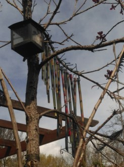 bamboo wind chime we made